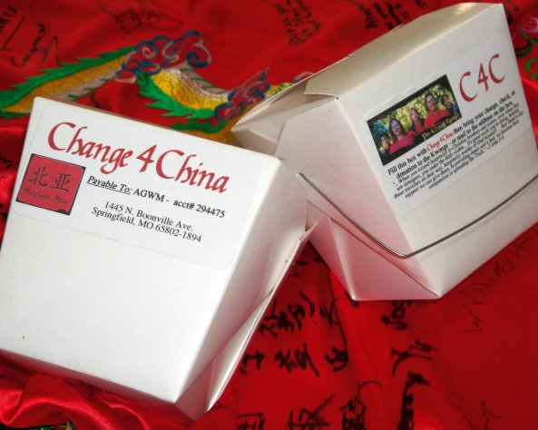 Change for China boxes