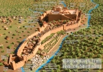 Wall of Jerusalem in Nehemiah's Time.
