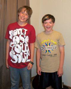 me and my friend mason