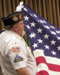 Honor Guard with Flag.