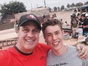 T w/ P. Scott Hagan in Baja California.