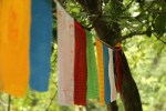 Prayer Flags on Wuzhishan Mountain.
